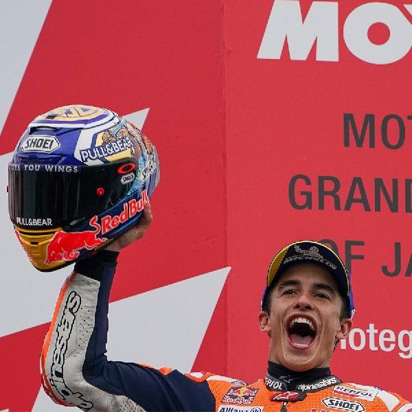 MotoGP: Marc Marquez Nyaris Kehabisan Bahan Bakar di Motegi