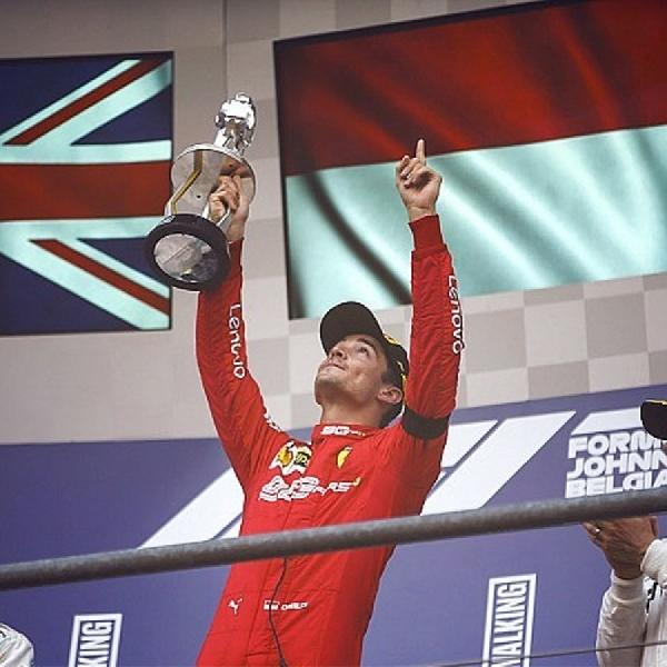 Leclerc Tidak Bisa Menikmati Kemenangannya di Grand Prix Belgia