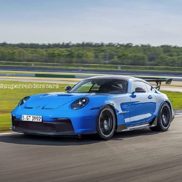 Mengimajinasikan New Porsche 911 GT3 Sebagai Supercar Ringan Bermesin Depan