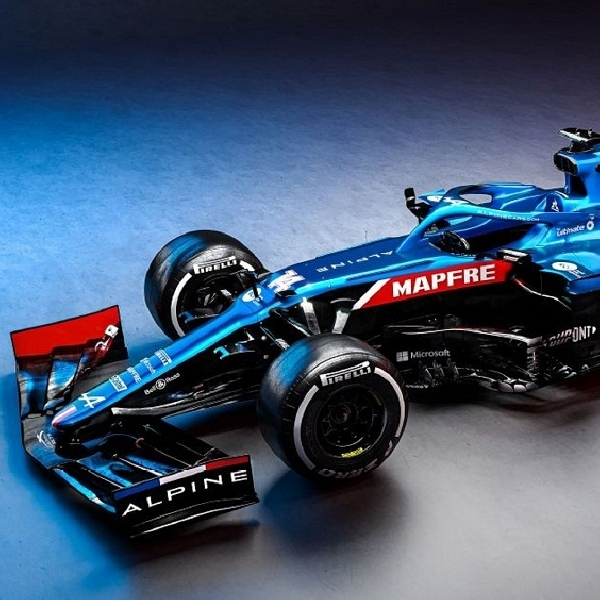 F1: Uji Mobil Alpine, Fernando Alonso Antara Senang dan Kecewa