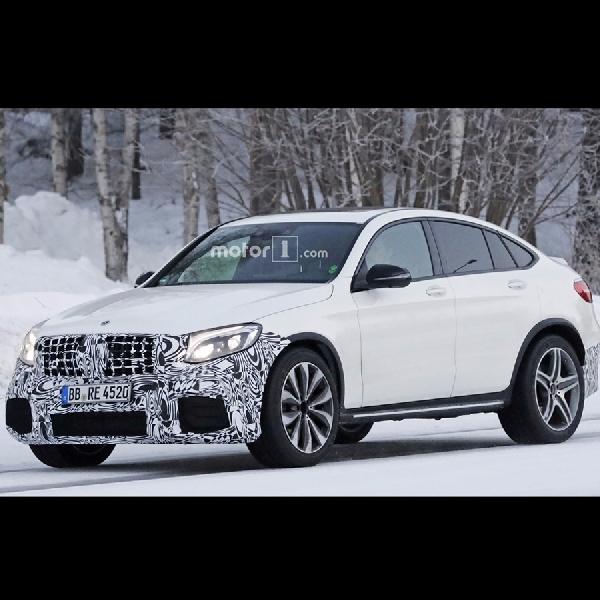 Mercedes-AMG GLC 63 Coupe Mulai Diuji