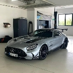 Sosok Mercedes-AMG GT R Black Series 2021 Bocor di Media Sosial