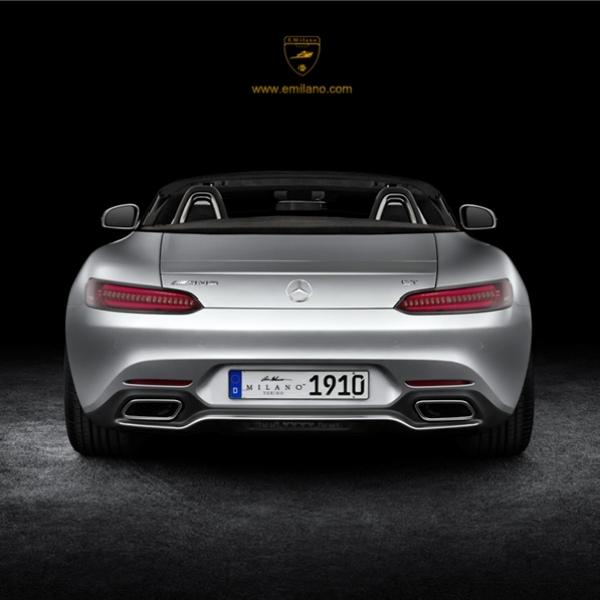 AMG GT Roadster mulai diuji