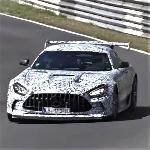 Mercedes AMG GT Test Ride di Nurburgring, Sayap Besar Jadi Fokus