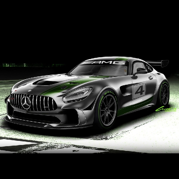 Preview AMG GT4 oleh Mercedes-AMG