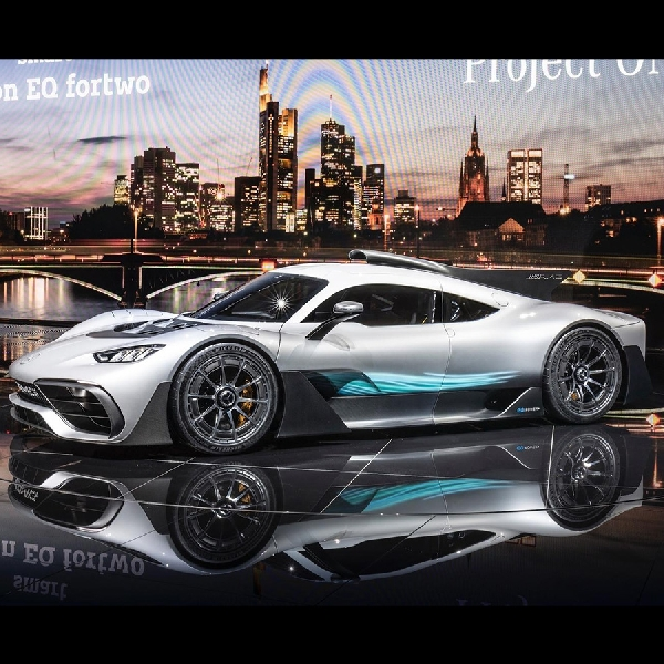 Mercedes-AMG Kembangkan Hypercar Bermesin F1 Hanya 275 Unit
