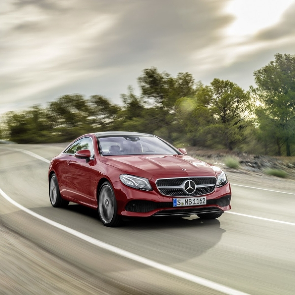 Mercedes Benz All New E-Class Coupe Masuk Jalur Perakitan