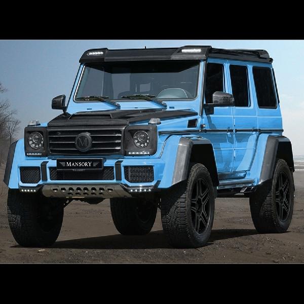 Mansory Upgrade Tampilan Mercedes-Benz G500 4x4