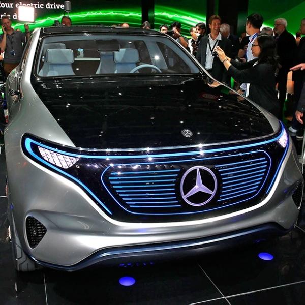 Mercedes Segera Ungkap Mobil Listrik EQ A di Frankfurt Motor Show