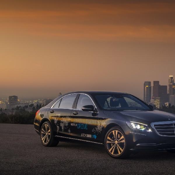 Mercedes Robo-Taxi Bisa Hadir Tak Lama Lagi