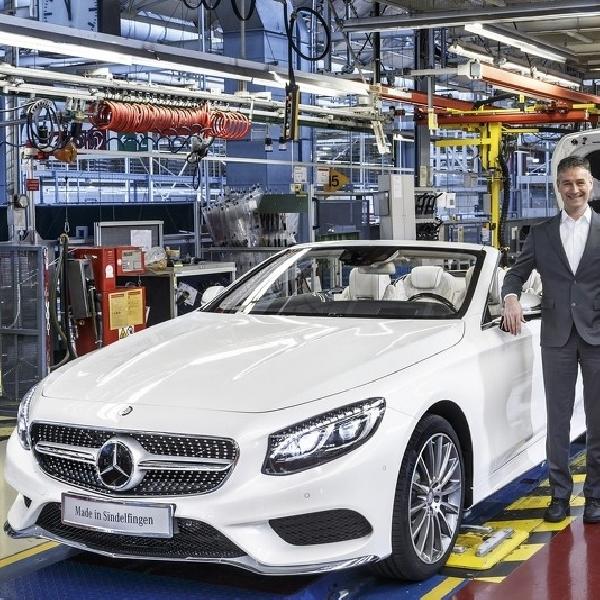 Mercedes S-Class Carbiolet Mulai Masuk Produksi