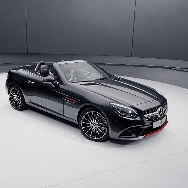 Mercedes-Benz SL Special Designo dan SLC RedArt Editions