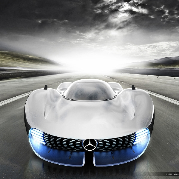 Digital Render Mercedes-AMG Hypercar