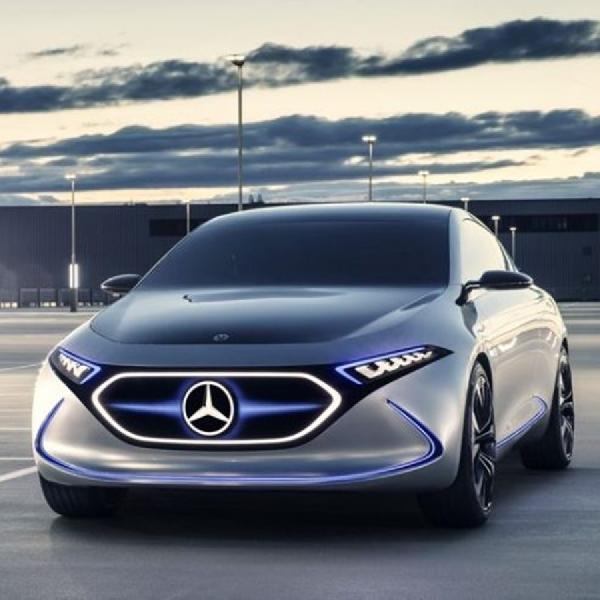 Mercedes-Benz Pamerkan Prototipe Mobil Listrik Terbaru