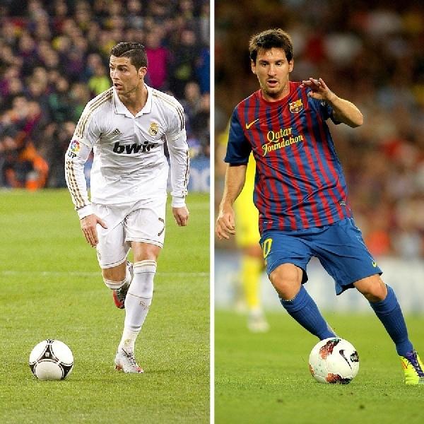 Keren, Inilah Deretan Mobil Super Messi dan Ronaldo