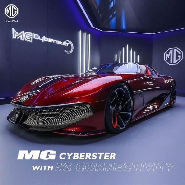 Inovasi Teknologi MG Melahirkan MG Marvel R Electric dan MG Cyberster