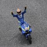 Rins Juara, Disambut Penonton Suzuki Indonesia