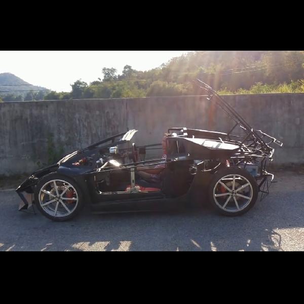 Begini Jadinya Kalau Seorang Petani Membuat Lamborghini Aventador
