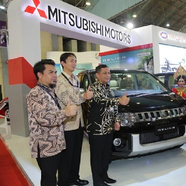 Mitsubishi Delica Royal Diperkenalkan di Makassar