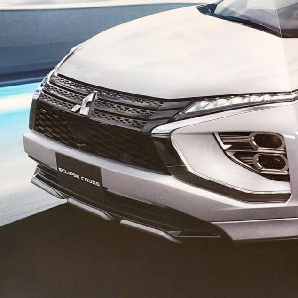 Teaser Mitsubishi Eclipse Cross Facelift Bocor