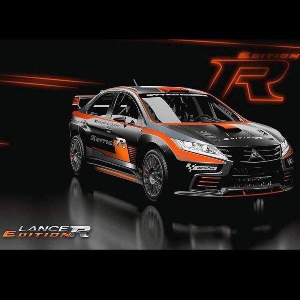 Dytko Sport Bangun Body kit Evo XI Mereka Sebut Sebagai Lancer R Edition