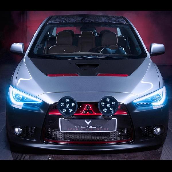 Sebuah Samurai Berwujud  Mitsubishi 'Ronin' Lancer