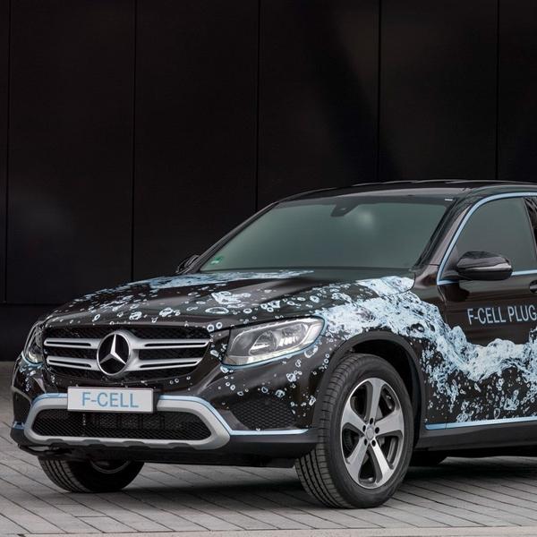 Mobil Hidrogen Mercedes-Benz Sudah Mulai Beredar