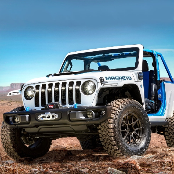 Mobil Konsep Listrik Magneto Wrangler: Bintang Easter Jeep Safari 2021