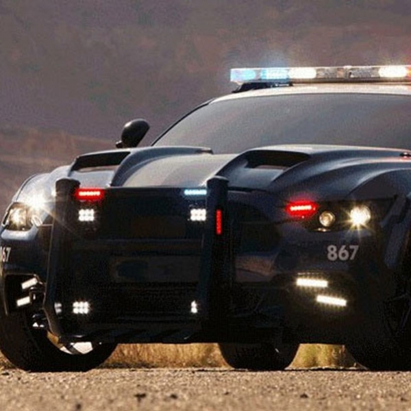 Mobil Polisi Ini Bakal Ramaikan Film Transformers The Dark Kinght
