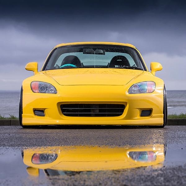 Modifikasi Honda S2000: Stance Indy Yellow