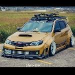 Modifikasi Subaru Impreza WRX STI, Gaya Sporty yang Kental