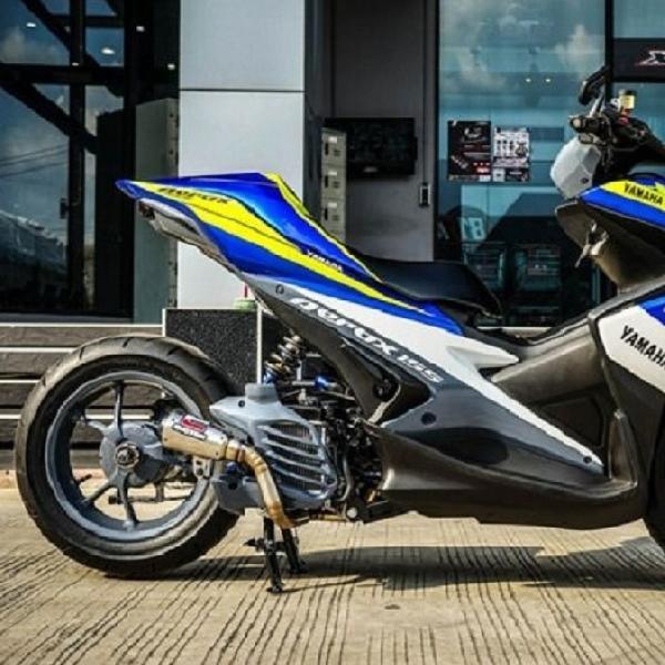 Modifikasi Aerox 155 X-Speed, Tampilan Ala MotoGP