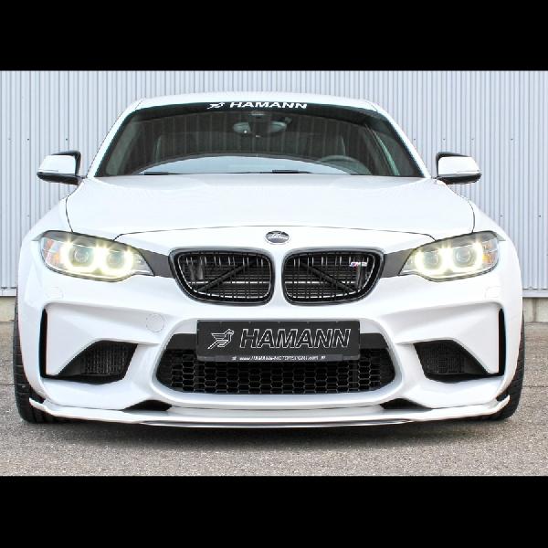 Modifikasi BMW M2 Racikan Hamman Motorsport Lebih Bertenaga