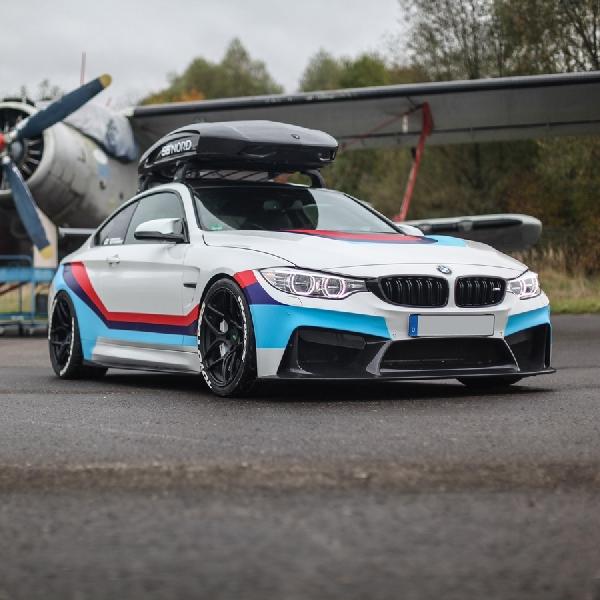 Modifikasi BMW M4: Full Karbon dan Tenaga Mesin Maksimal