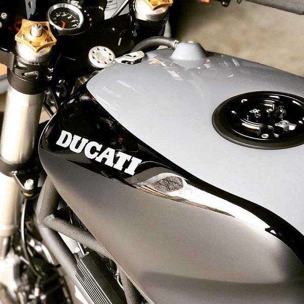 Modifikasi Ducati 750 SS Bergaya Modern Cafe Racer