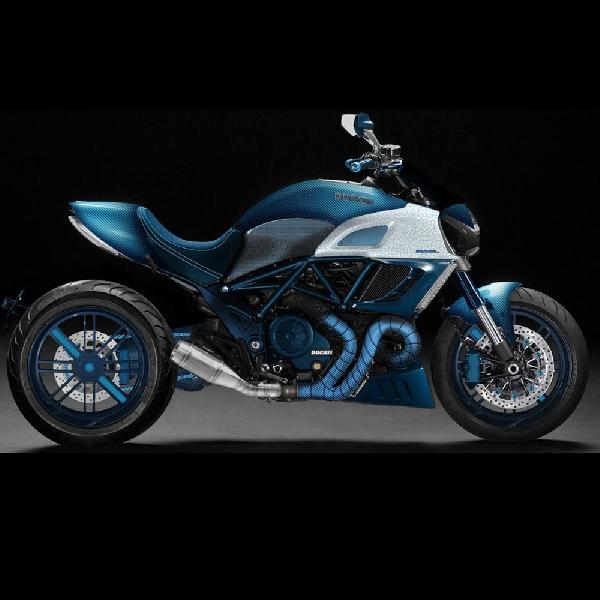 Modifikasi Ducati Diavel: Lebih Manis dan Menarik