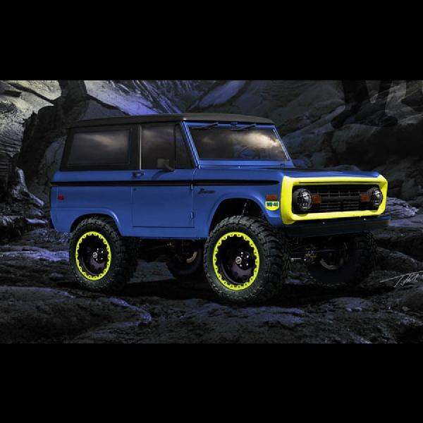 Modifikasi Ford Bronco Akan Tampil Secara Perdana di SEMA 2017