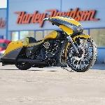 Modifikasi Harley-Davidson Daytona Seperti Kucing Besar Kuning