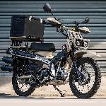 Motor Custom Honda CT125 Terinspirasi 'Mad Max', Begini Tampilannya
