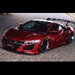 Modifikasi Honda NSX: Garang Seperti Mobil balap