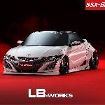 Modifikasi Honda S660: Lebih Seksi Berkat Liberty Walk