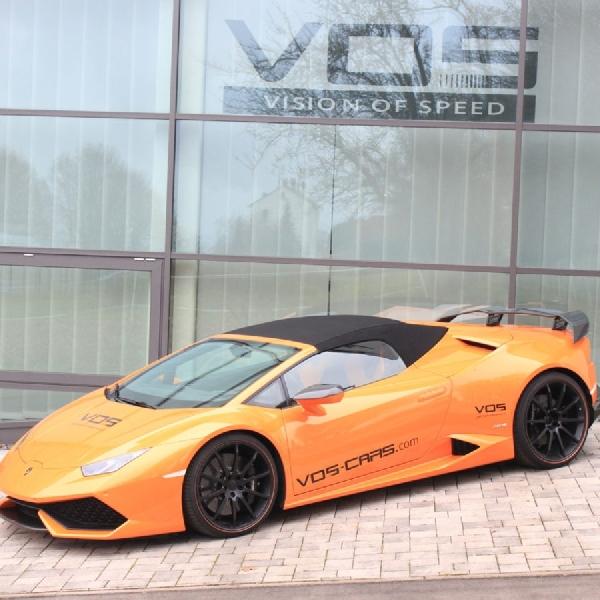 Modifikasi Huracan Spyder oleh VOS Performance