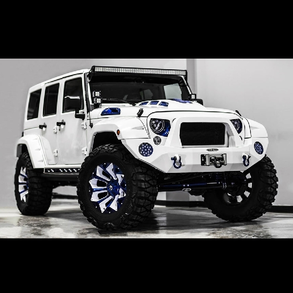 Modifikasi Jeep Wrangler ala Stormtrooper