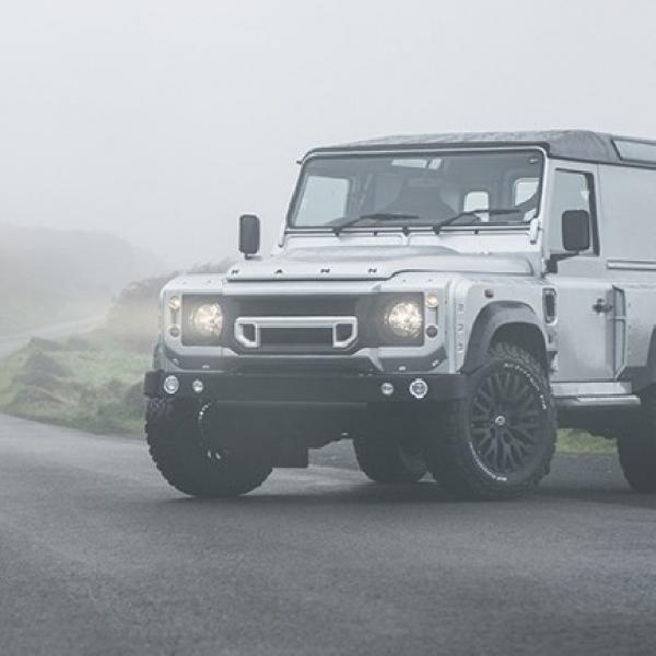 Modifikasi Land Rover Defender Stylish Urban Explorer