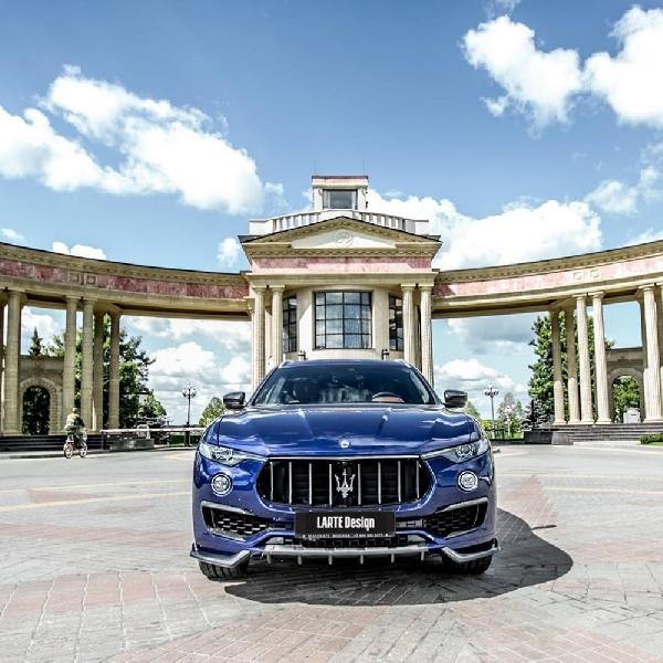 Modifikasi Maserati Levante: Simpel tapi Dinamis