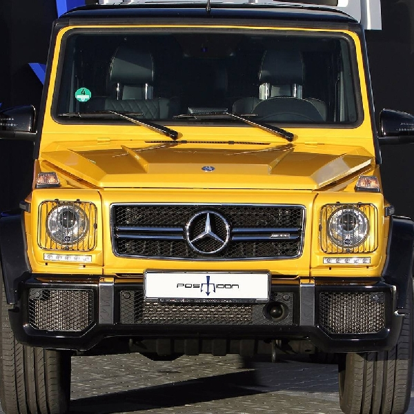Modifikasi Mercedes-AMG G63 - Body Bongsor, Tenaga Buas