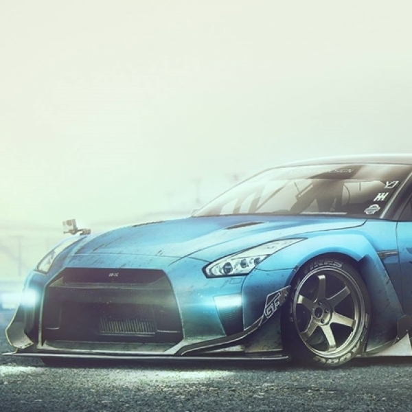 Modifikasi Nissan GT-R Versi Station Wagon