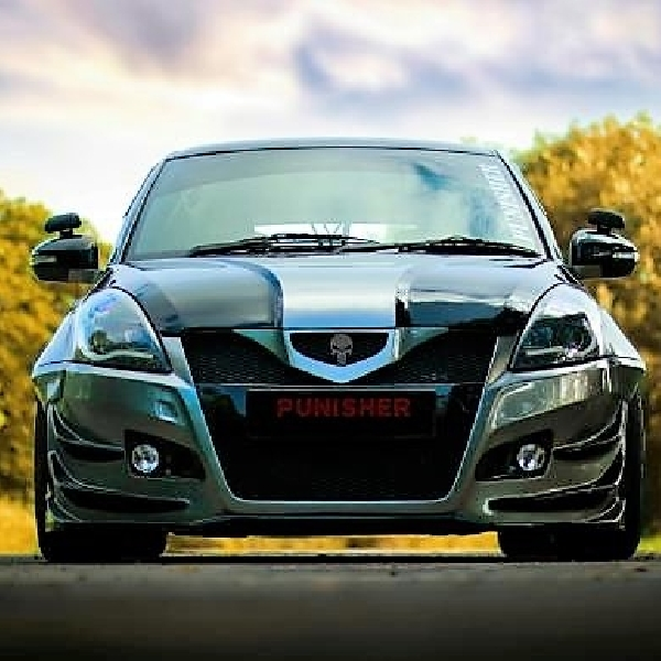 Modifikasi Suzuki Swift: The Punisher