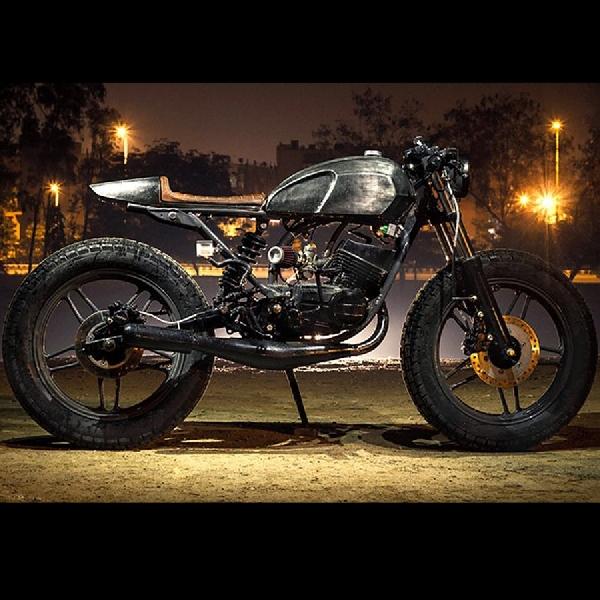 Modifikasi Yamaha RX 135 Cafe Racer