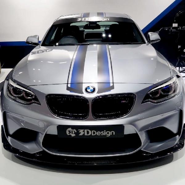 Modifkasi BMW M2 Hasil Racikan 3D Design